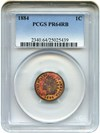 Image of 1884 1c PCGS Proof 64 RB