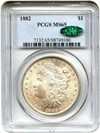 Image of 1882 $1 PCGS/CAC MS65