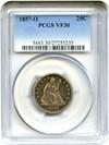 Image of 1857-O 25c PCGS VF30