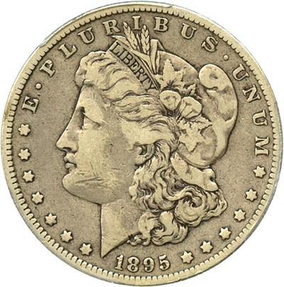 Image of 1895-O $1 PCGS/CAC F12