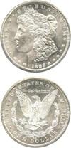 Image of 1893-CC $1 PCGS MS63 - Key Carson City Issue