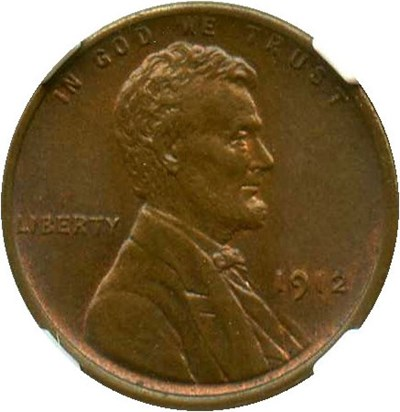 Image of 1912 1c NGC/CAC MS64 BN