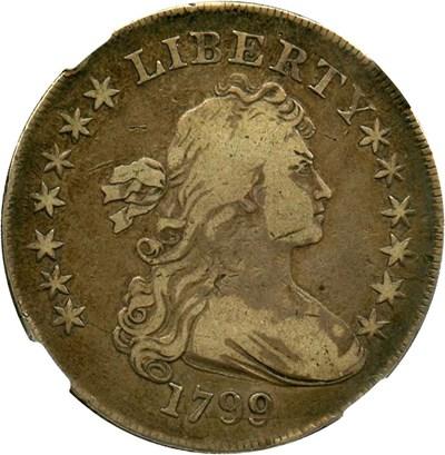 Image of 1799 $1 NGC F12