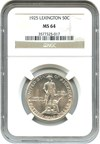 Image of 1925 Lexington 50c NGC MS64
