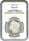 Image of 1883-CC $1 NGC MS65 DMPL