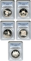 Image of Collector Lot: Assorted Modern Commem. $1 PCGS PR69 DCAM (5 Coins) - No Reserve!