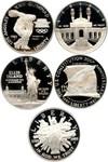 Image of Collector Lot: Assorted Modern Commem. $1 PCGS PR69 DCAM (5 Coins) - No Reserve!