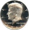 Image of 1964 50c PCGS Proof 64 (Accented Hair)