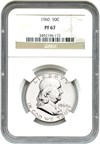 Image of 1960 50c NGC Proof 67