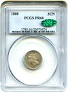 Image of 1888 3cN PCGS/CAC Proof 66