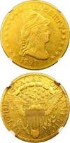 Image of 1797 Large Eagle $10 NGC VF30 - Nice, Affordable Early Gold Eagle