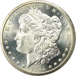 Image of 1884-CC $1 PCGS/CAC MS66+ - No Reserve!