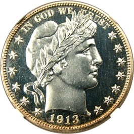 Image of 1913 50c NGC/CAC Proof 66 CAM