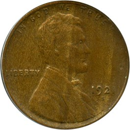 Image of 1921-S 1c PCGS VF35