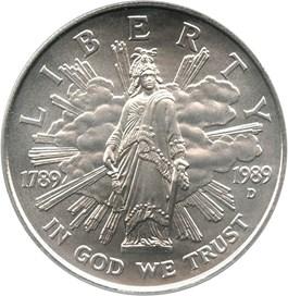Image of 1989-D Congress $1 PCGS MS69
