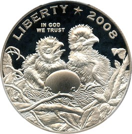 Image of 2008-S Bald Eagle 50c PCGS Proof 69 DCAM - No Reserve!