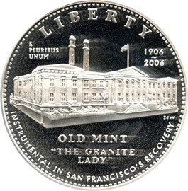 Image of 2006-S San Francisco Old Mint $1 PCGS Proof 69 DCAM - No Reserve!