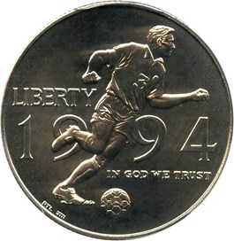 Image of 1994-D World Cup 50c PCGS MS69