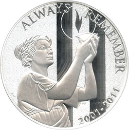 Image of 2011-W 9-11 National Medal $1 PCGS Proof 69 DCAM - No Reserve!