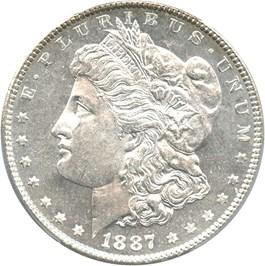 Image of 1887 $1 PCGS MS64 DMPL