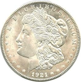 Image of 1921-S $1 PCGS MS65