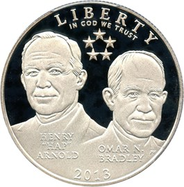 Image of 2013-S 5 Star Generals 50c PCGS Proof 69 DCAM
