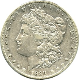 Image of 1889-CC $1 PCGS XF40 - Key Date Carson City Morgan Dollar