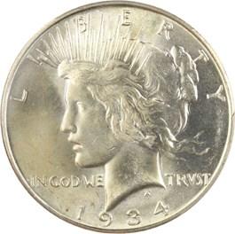 Image of 1934-D $1 PCGS MS64