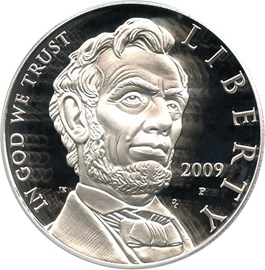 Image of 2009-P Abraham Lincoln $1 PCGS Proof 70 DCAM