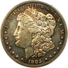 Image of 1903 $1 PCGS Proof 64