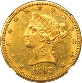 Image of 1892-O $10 NGC MS61