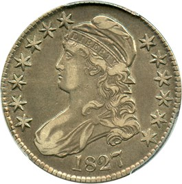 Image of 1827 50c PCGS XF45 (Square Base 2)
