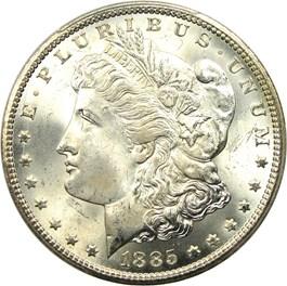 Image of 1885-CC $1 PCGS MS66+