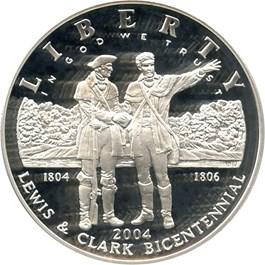 Image of 2004-P Lewis & Clark $1 PCGS Proof 70 DCAM