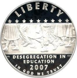 Image of 2007-P Desegregation-Little Rock $1 PCGS Proof 70 DCAM