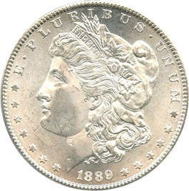 Image of 1889-S $1 PCGS/CAC MS65