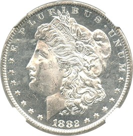 Image of 1882-CC $1 NGC MS63 DMPL