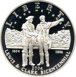 Image of 2004-P Lewis & Clark $1 PCGS Proof 69 DCAM