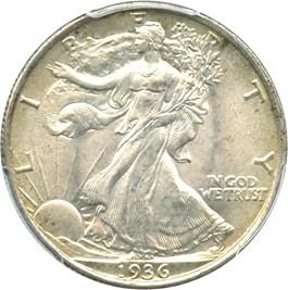 Image of 1936 50c PCGS/CAC MS67