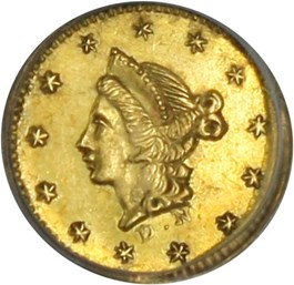 Image of California Gold: 1853 50c PCGS AU55 (BG-409)