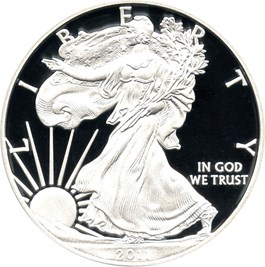 Image of 2011-W Silver Eagle $1 PCGS Proof 70 DCAM