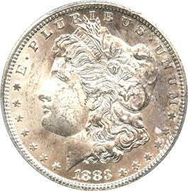 Image of 1883-CC $1 PCGS MS62
