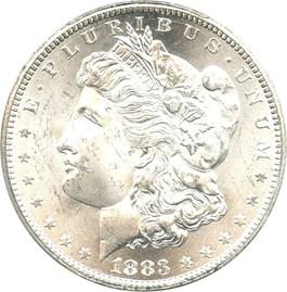 Image of 1883-CC $1 PCGS MS64