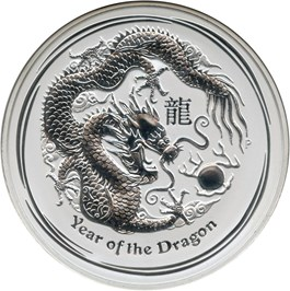 Image of Australia: 2012-P Dragon $30 NGC MS68 (1 Kg Silver)