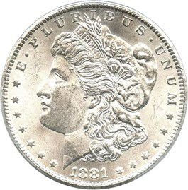 Image of 1881-CC $1 PCGS MS62