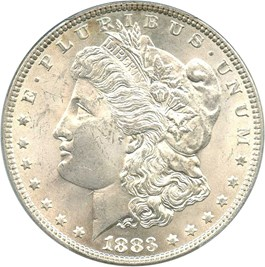 Image of 1883 $1 PCGS MS63