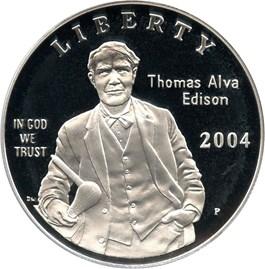 Image of 2004-P Edison $1 PCGS Proof 69 DCAM