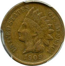Image of 1909-S Indian 1c PCGS/CAC XF40