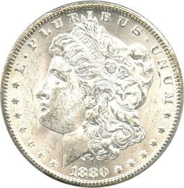 Image of 1880-CC $1 PCGS MS62