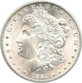Image of 1884-CC $1 PCGS MS65 (ex: GSA)